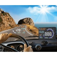 Car Heads Up Display With Fault Code Reader