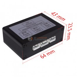 Car Reverse Camera Two Channel Switch Video Control Box Video Converter