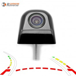 Universal Intelligent Dynamic Trajectory Parking Line Camera Reverse Backup Vehicle Tracks Rear Camera For any Car Monitor | Reverse-Camera