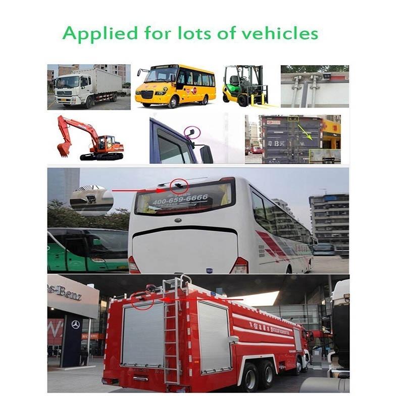 Best 12/24 Volt rear view camera for trucks / Bus