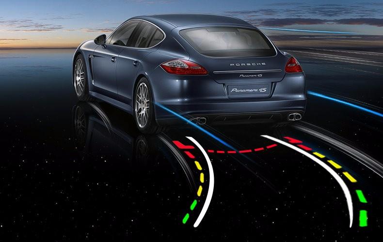 Car Intelligent Parking Tracks Camera For Chevrolet Aveo Captiva