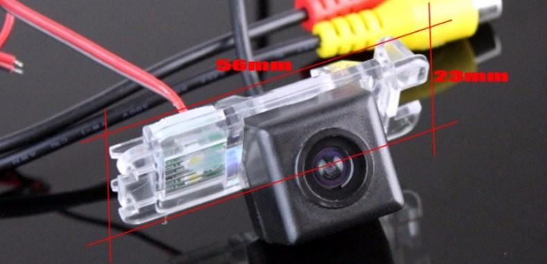 Car Intelligent Parking Tracks Camera For Ford Ecosport