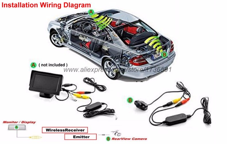 370Z Backup Camera Wiring Diagram from www.reverse-cameras.com